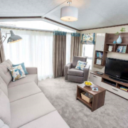 static caravan sales, great location