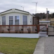 excellent condition static holiday caravan for sale on NC500
