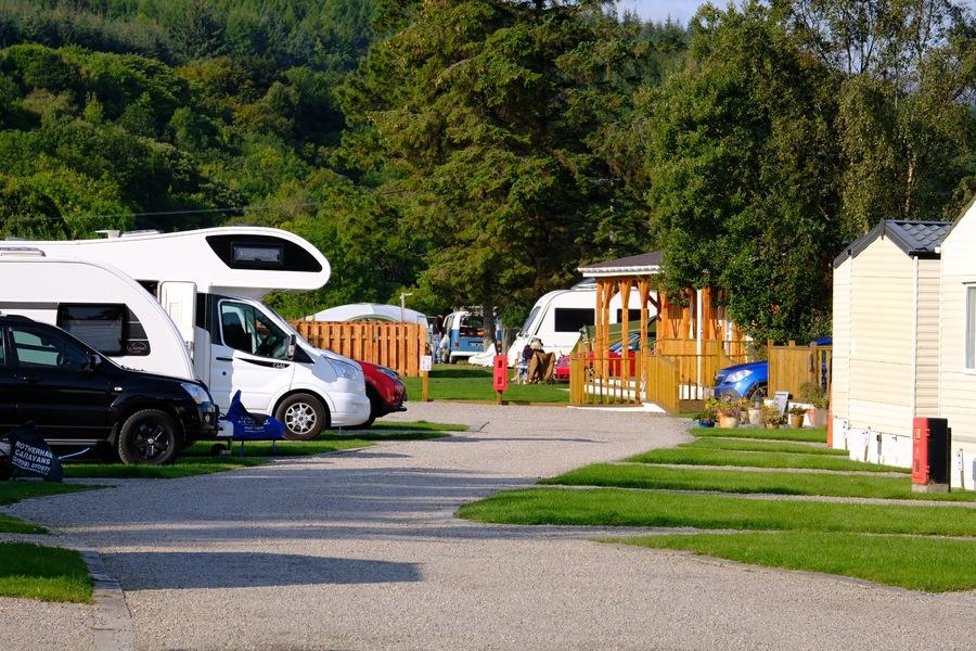 Dornoch Firth Caravan Park Touring